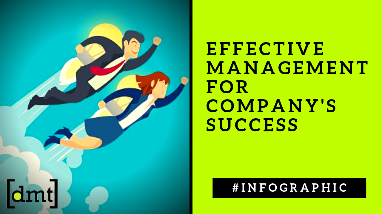 Importance Of Management To Your Company's Success Infographic