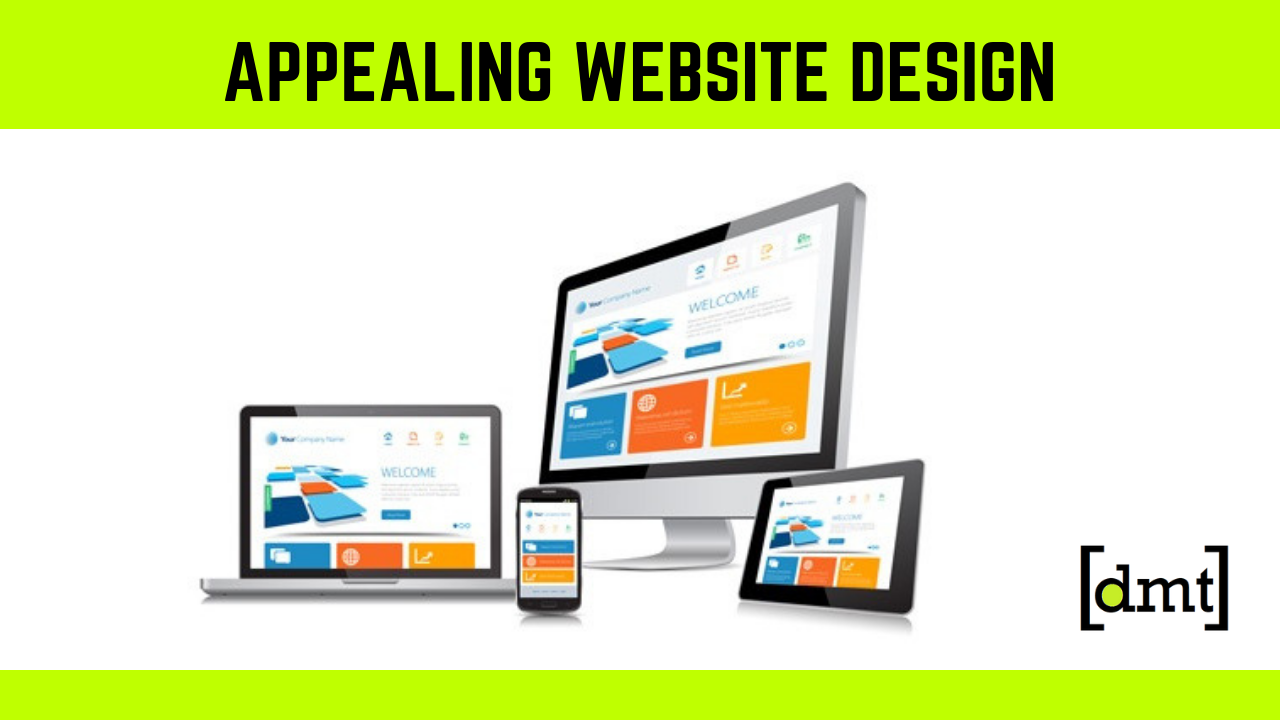 How an Appealing Website Design Gives You an Edge over Your Competitors