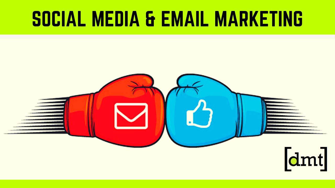 How Social Media Support Email Marketing Campaigns