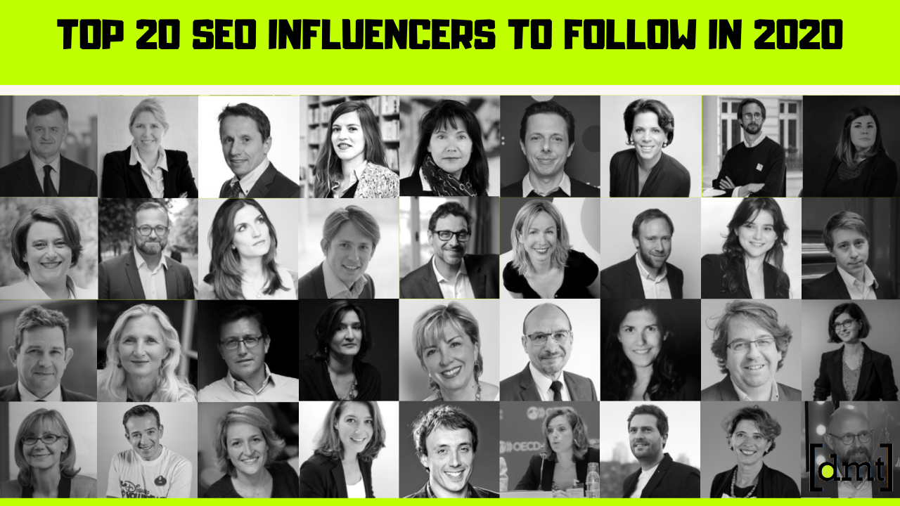 Top 20 SEO Influencers to Follow on Twitter in 2020