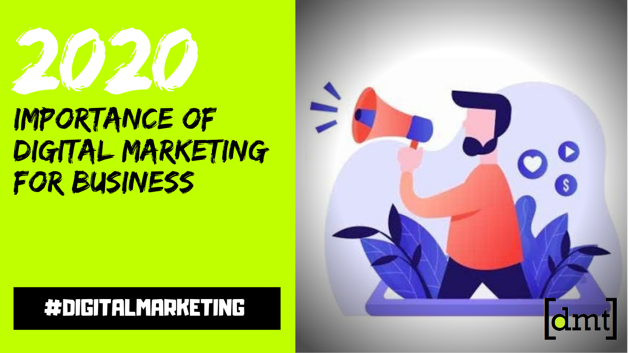 Importance of Digital Marketing For Business in 2020