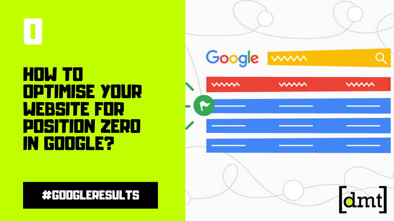 How to optimise your website for Position Zero in Google