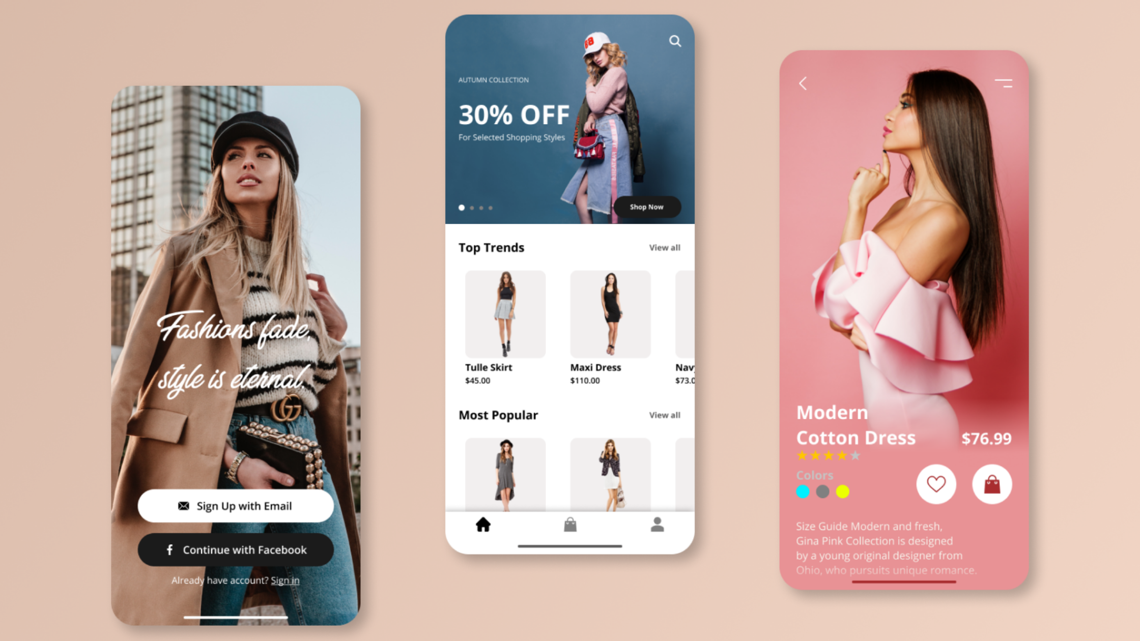 Fashion Mobile Apps