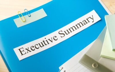 How to write an Executive Summary of a Dissertation?