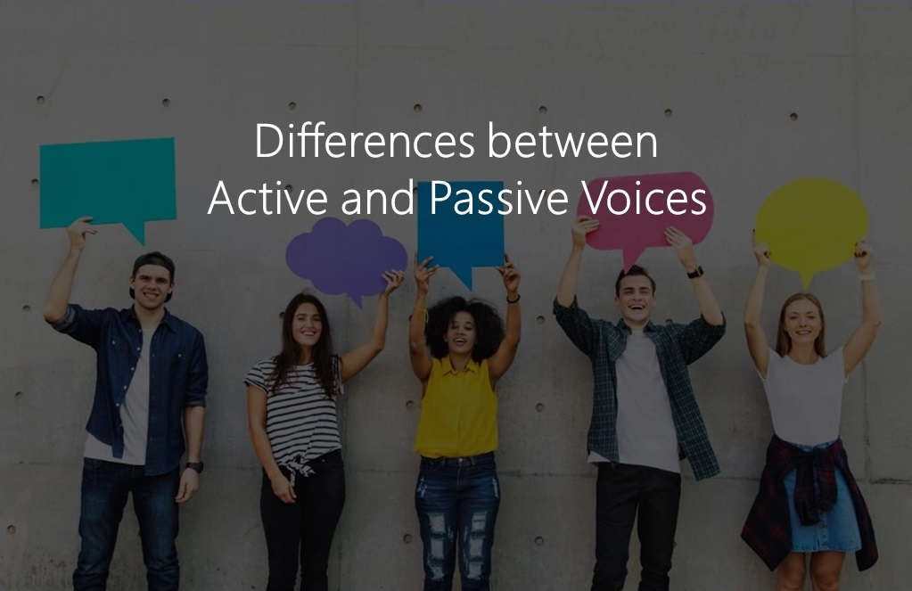 Avoid passive voice in assignments