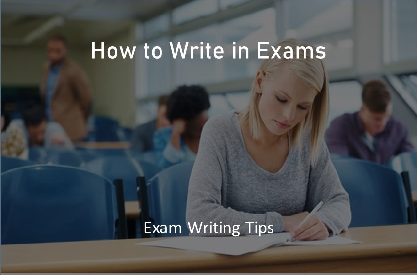 How to write in Exams