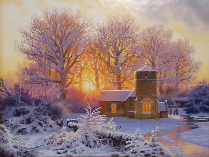 Happy Christmas - Eastleach - St Michael & St Martins Church Bouthrop