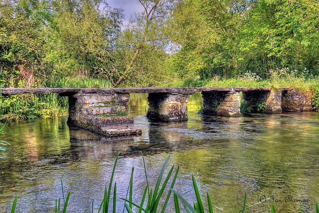 Keble Bridge - Eastleach