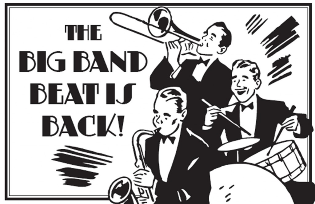 Big band swing picnic eastleach