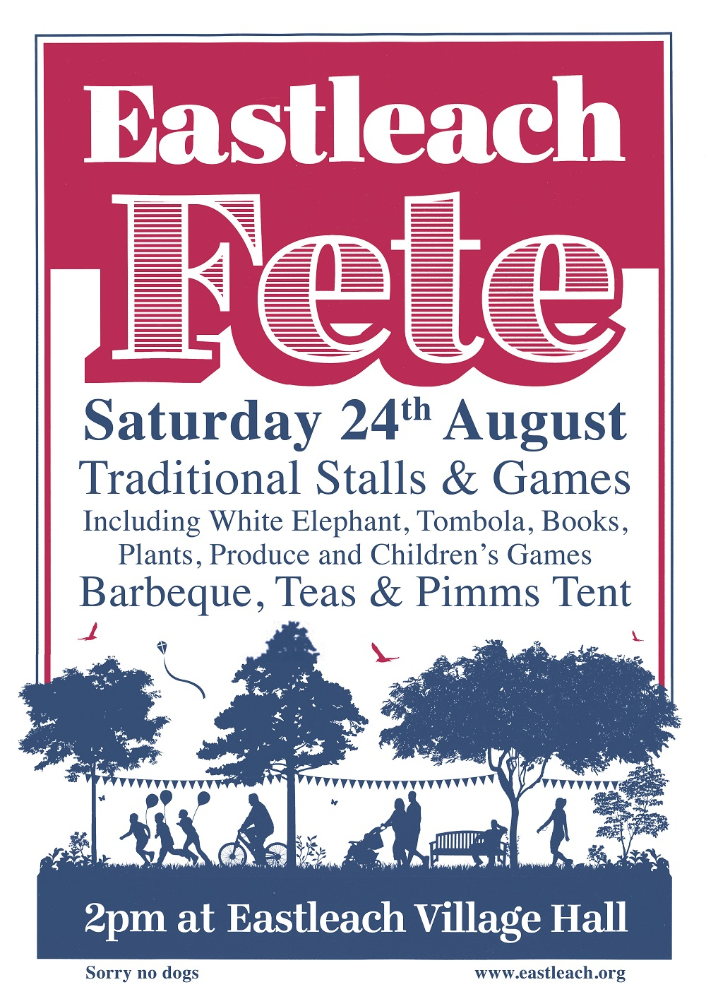Plants, pots, unwanted gardening equipment needed for sale on the garden stall at the Eastleach Village Fete on the 24th August 2019