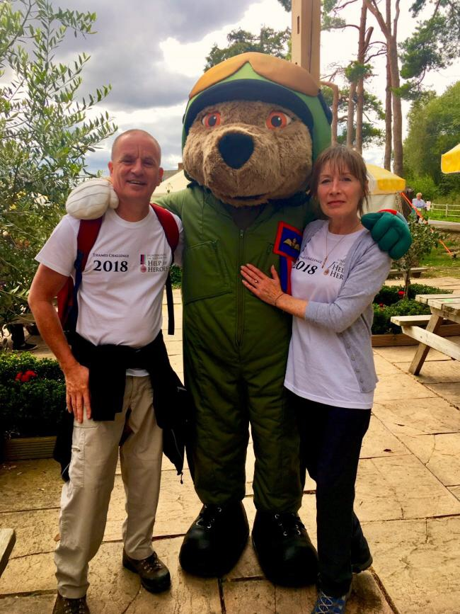 WALKERS and volunteers are invited to take a stroll in aid of an armed forces charity.