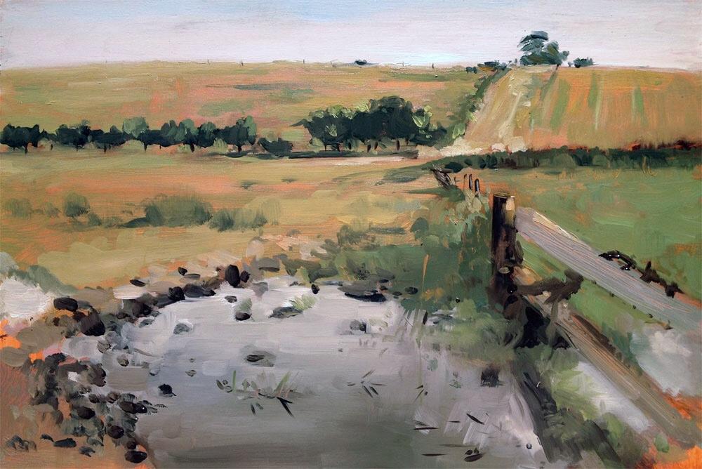 Eastleach By Artists - Helen Davison Bradley