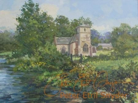 OLD CHURCH, EASTLEACH MARTIN
