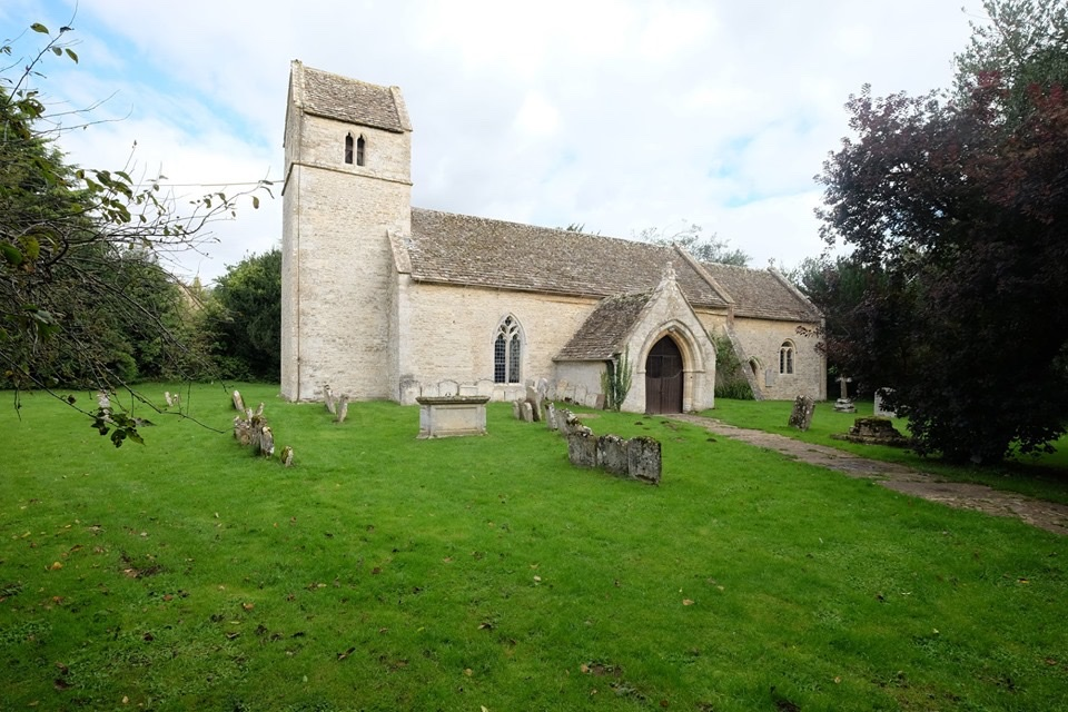 One of two Eastleach churches that face each other on opposite banks of the River Leach in the heart of Eastleach in the Gloucestershire Cotswolds, St Andrew's is a lovely country church dating to the early 12th century.