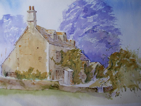 I have been painting in watercolour now for about twenty years. David Harmer Eastleach