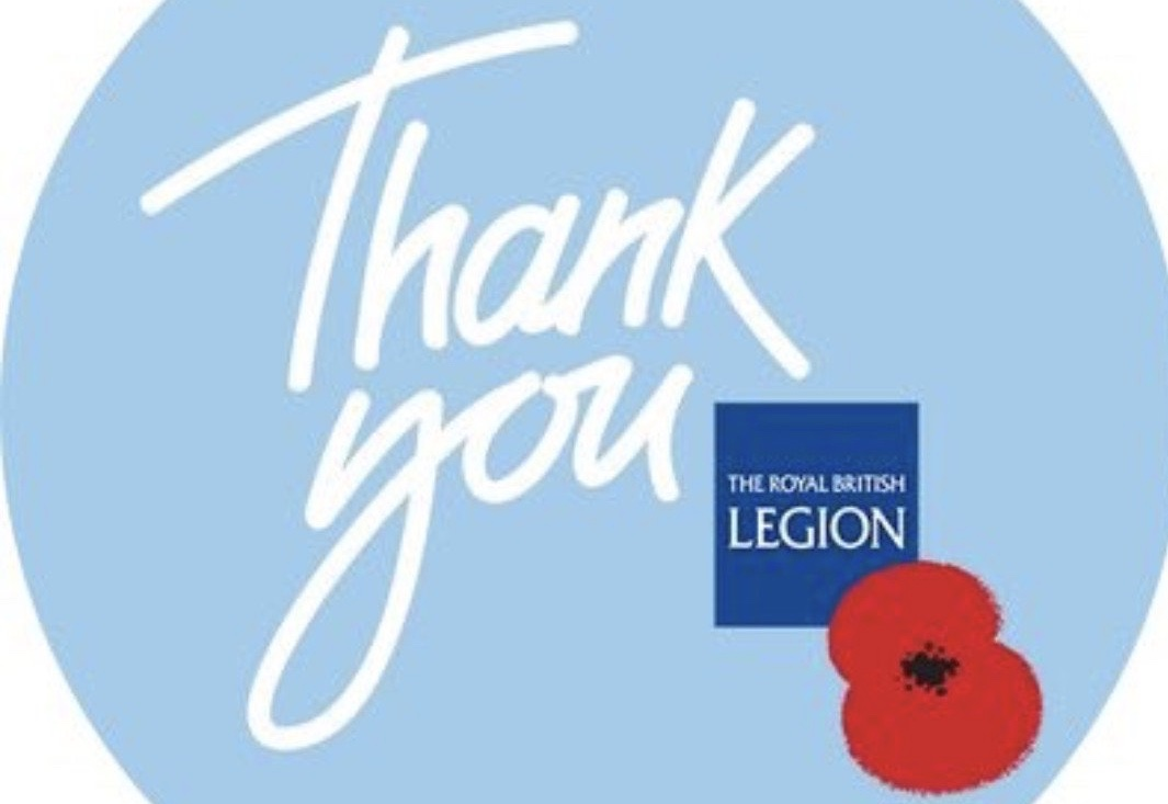 """This year we raised £1,588.57, all due to the hard work of the Poppy Box Collectors and the generosity of everyone in Eastleach and Fyfield."""