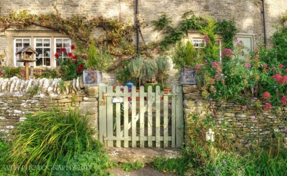 Photo of Our Garden Gate Eastleach, Cotswolds, Gloucestershire, England – Photograph by Any Hill, ATH Photography