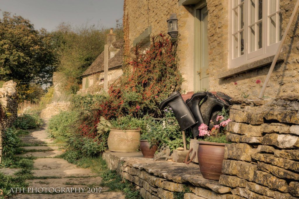 Hanging up the boots - Eastleach