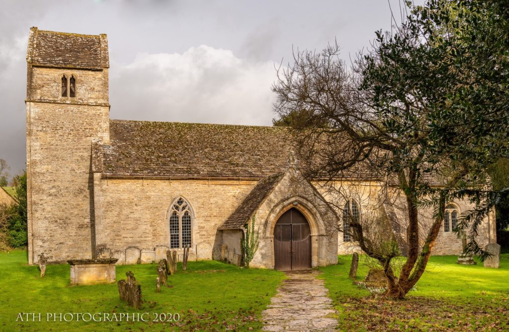 St Andrews Church – Eastleach, Cotswolds, Gloucestershire, England - Photograph by Any Hill, ATH Photography