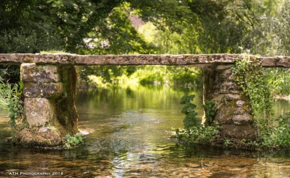 Photo of the Clapper Bridge, Eastleach, Cotswolds, Gloucestershire, England – Photograph by Any Hill, ATH Photography