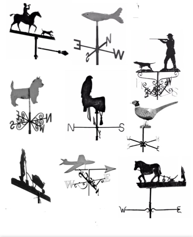 CHEQS Weather Vanes - Which ones have you spotted on your travels?