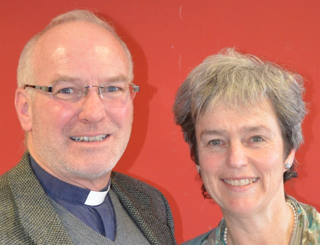 Hello from…… Simon & Clare Brignall Coming to live and work in the South Cotswolds Team Ministry area and to serve the parish of Coln St. Aldwyns, Hatherop & Quenington has been a real home-comin