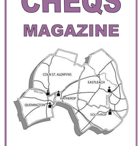 CHEQS MAGAZINE AUGUST 2020
