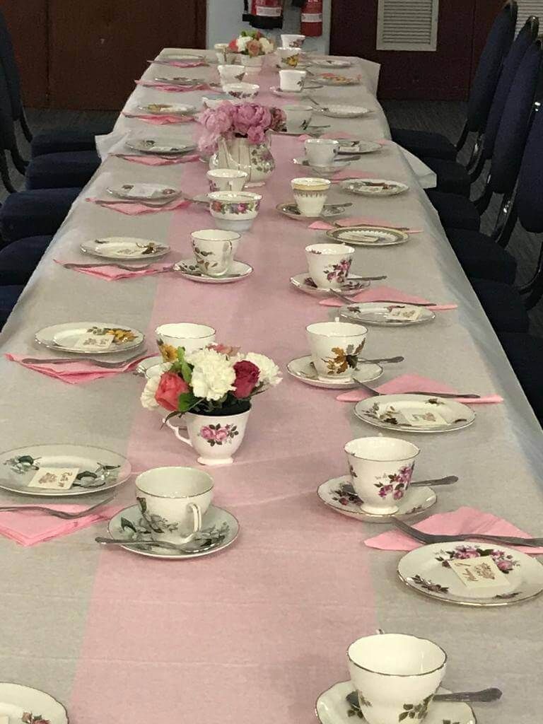Tables at Afternoon Tea Party