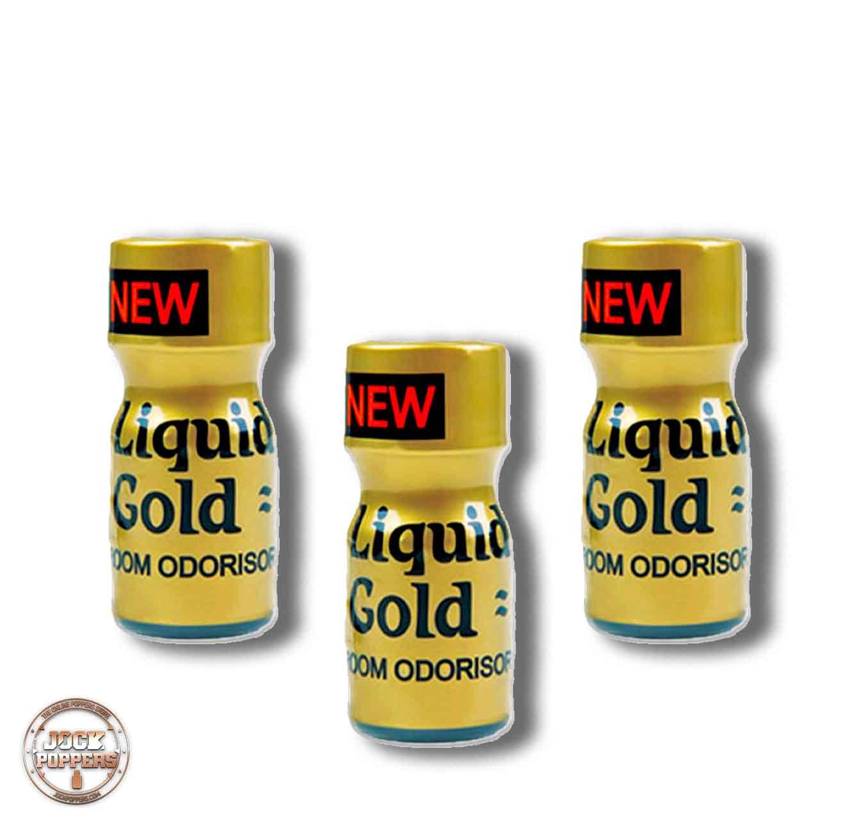3 PACK – Liquid Gold Liquid Gold Room Odourisers Transparent 10ml