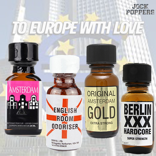 MULTI PACK – TO EUROPE WITH LOVE