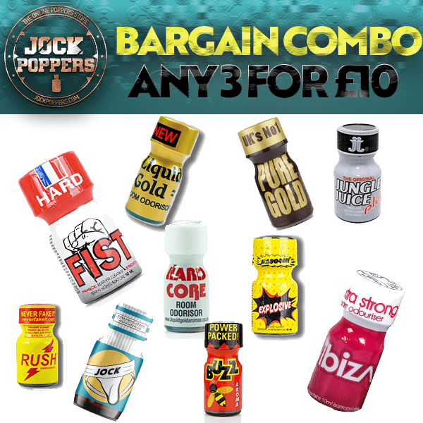 BARGAIN POPPERS COMBO