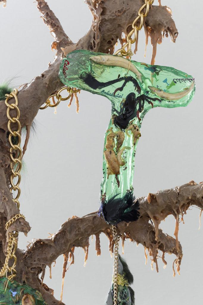 Athena Papadopoulos – Smurfette, TAPPED, 2017