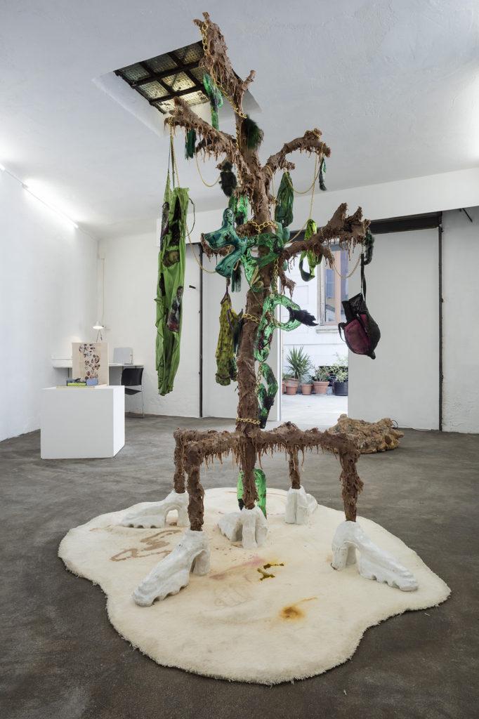 Athena Papadopoulos – Smurfette, TAPPED, 2017 | castiglioni fine arts