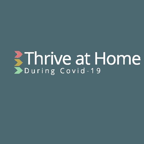 Thrive at Home White Logo