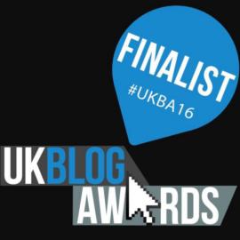 UK Blog Awards Finalist!