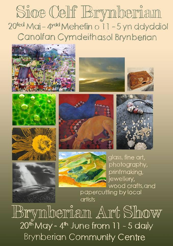 A Recent Art Show in Pembrokeshire!