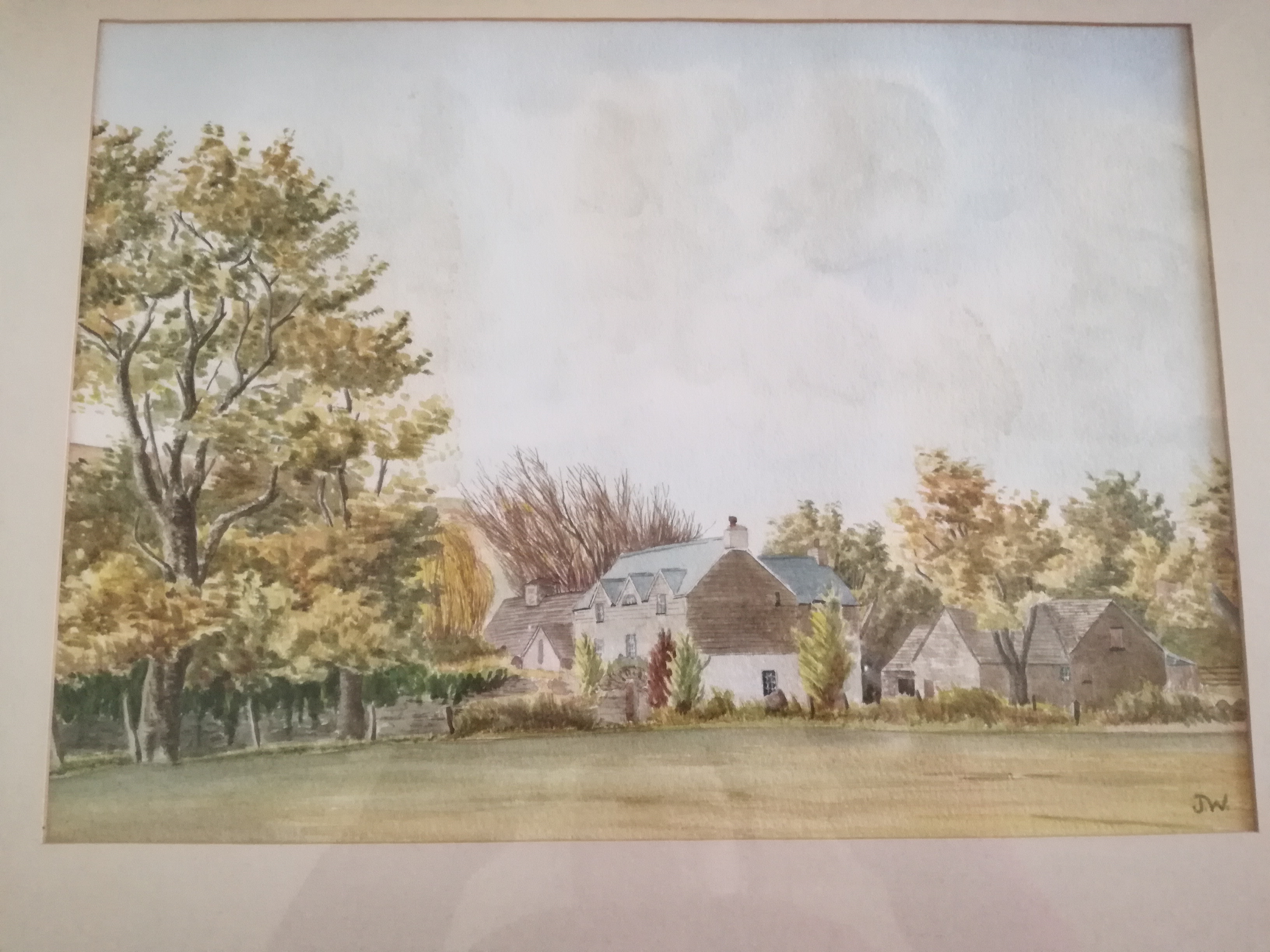 Painting of the Old Rectory from the 1970's!