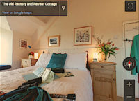 Bedroom 360 | The Old Rectory, Newport