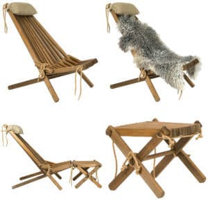 HM ALPINE LIFESTYLE DECKCHAIR