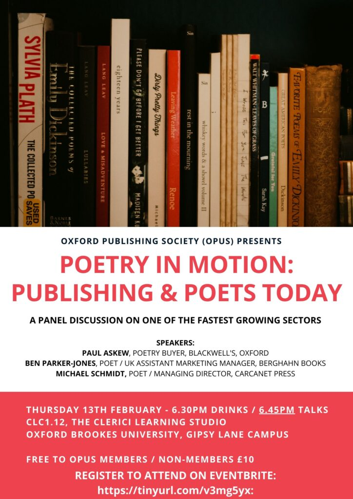 Poetry Publishing Poster