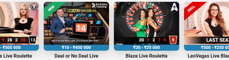 Some of the games available at Indian Casino Sites