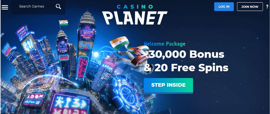 Casino Planet Welcome Offer