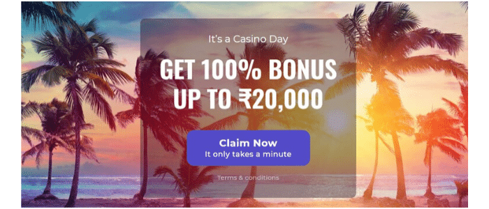 Casino Days Welcome Offer