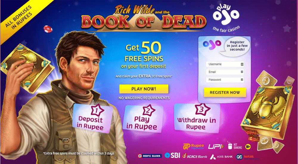 Play OJO India Welcome Offer