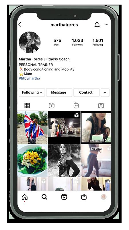 Instagram Fit By Martha