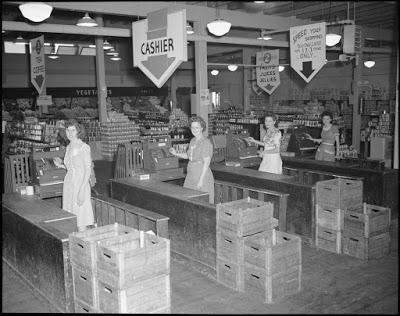 Saturn in Virgo 1949 – Britain Gains First Self-Service Shops