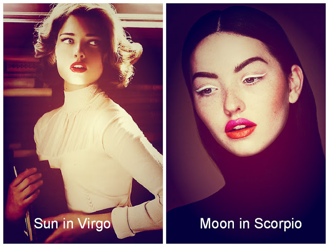 Sun in Virgo / Moon in Scorpio