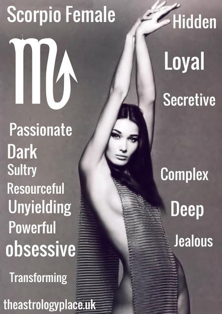 Scorpio Female Personality