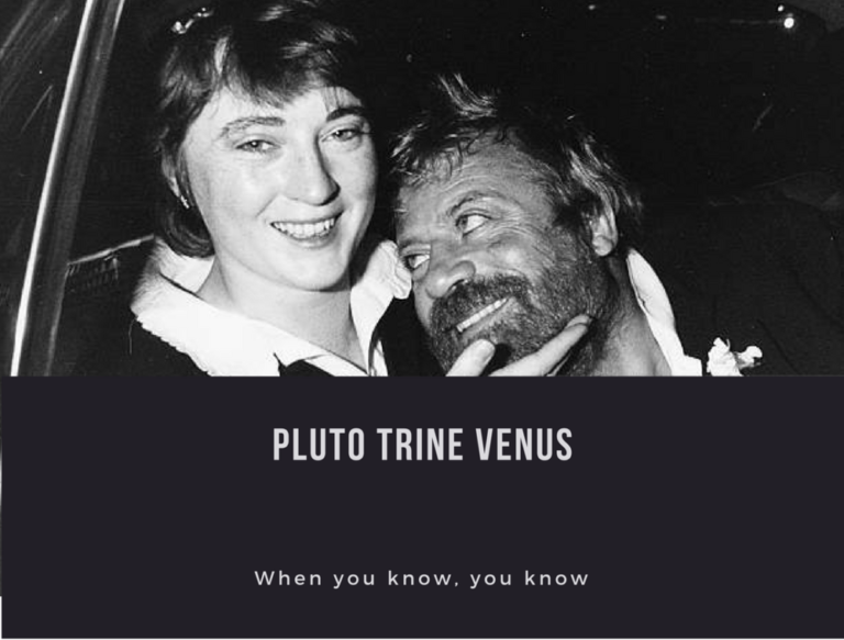 Pluto Trine Venus Transit: The Whiff of Fate