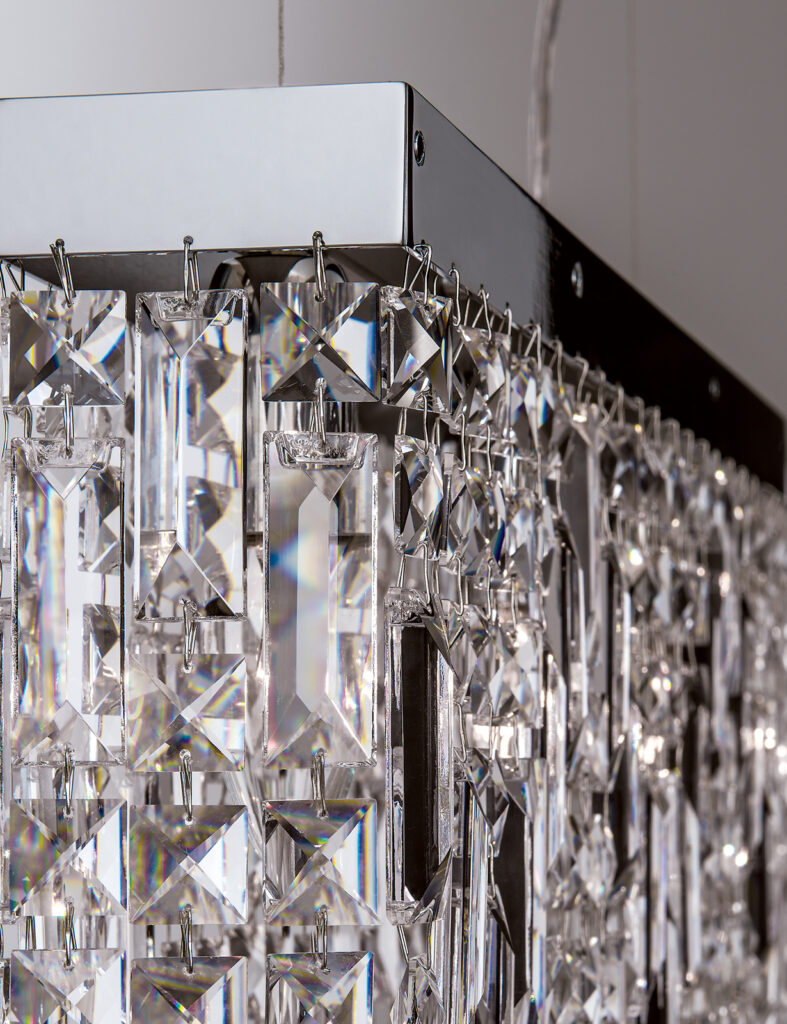 Quality craftsmanship - metalwork and crystal